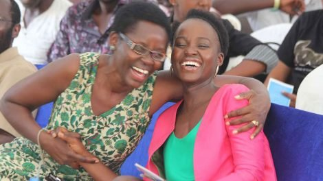 Lupita and her mother awarded for their big roles in creating cancer awareness